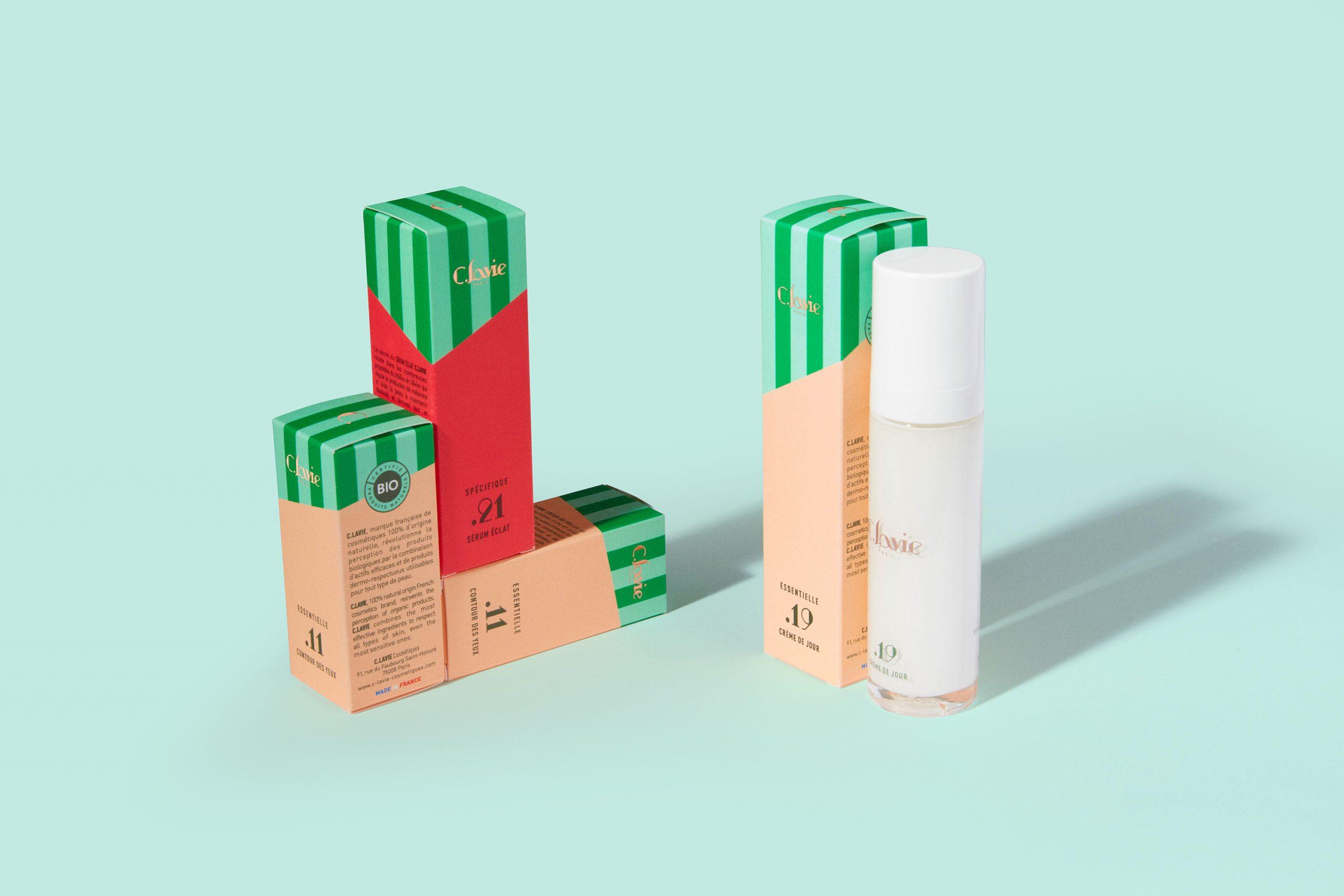 C.LAVIE packaging cosmétiques biologiques france