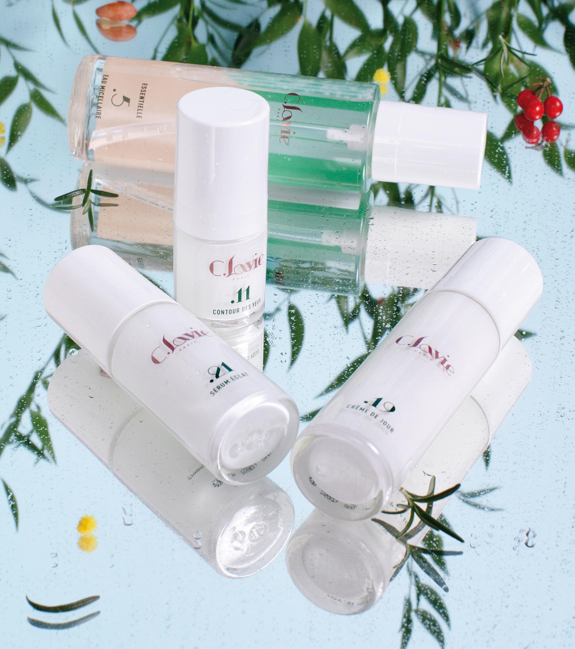 Produits c.lavie beauty shot