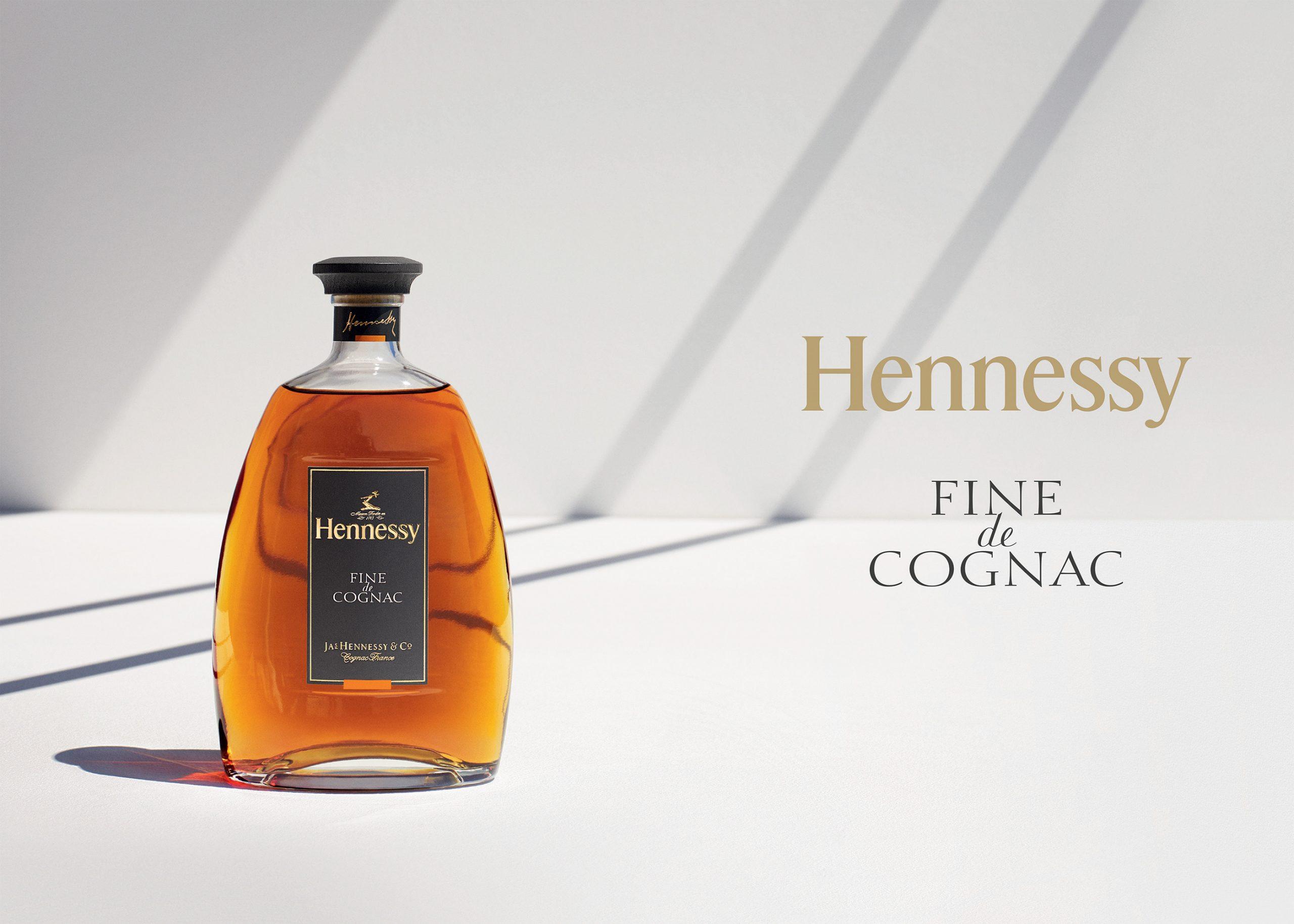 carafe hennessy fine de cognac
