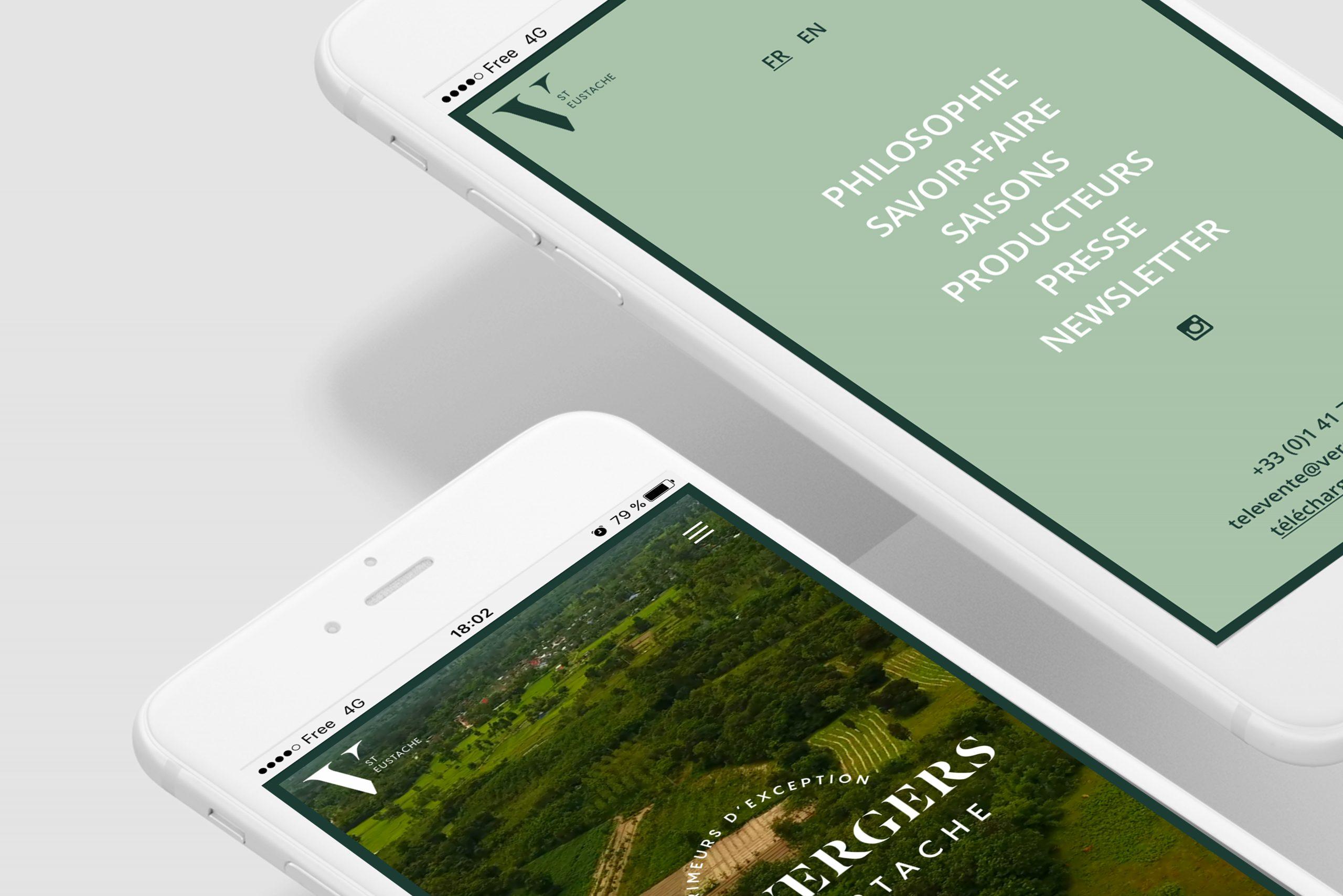 mobile site vergers saint-eustache