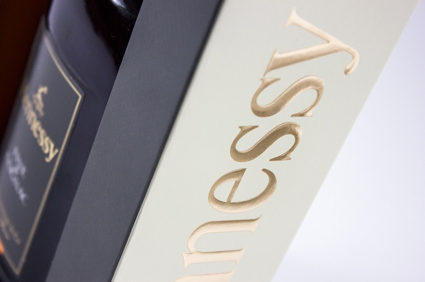 tranche packaging hennessy fine de cognac
