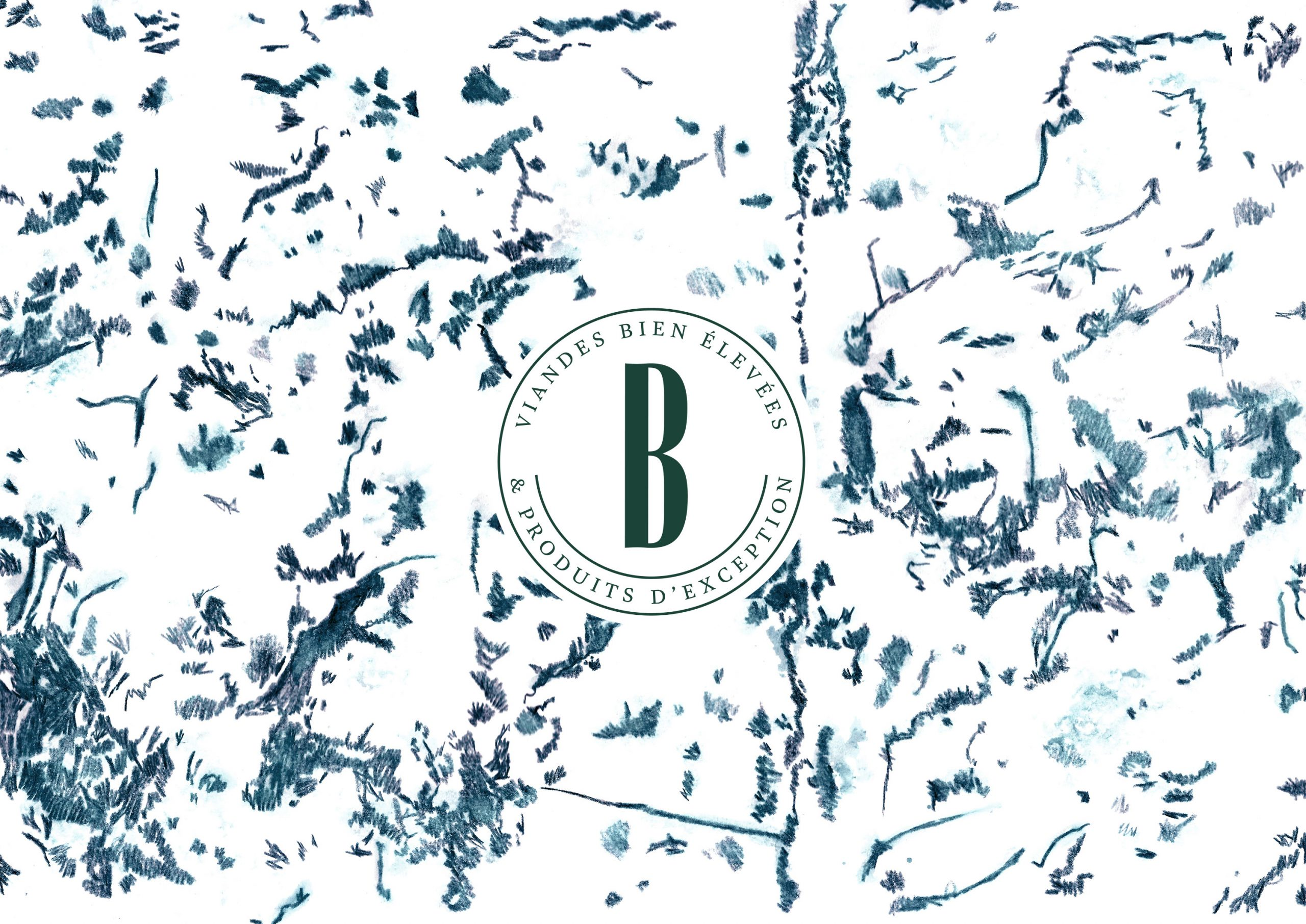 Beaugrain pattern crèmerie