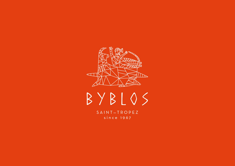 logo orange 50 ans Byblos