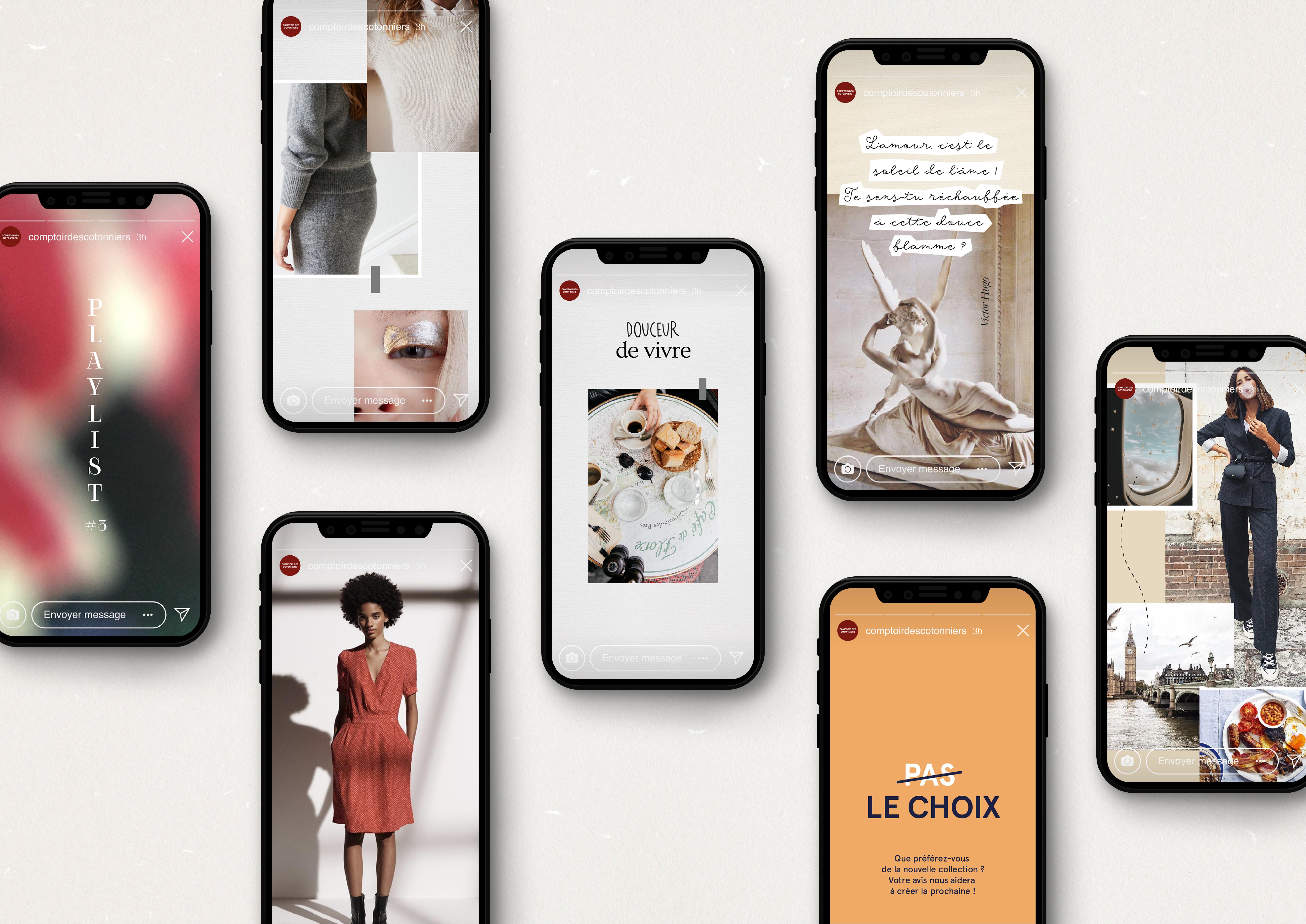 mobile web comptoir des cotonniers