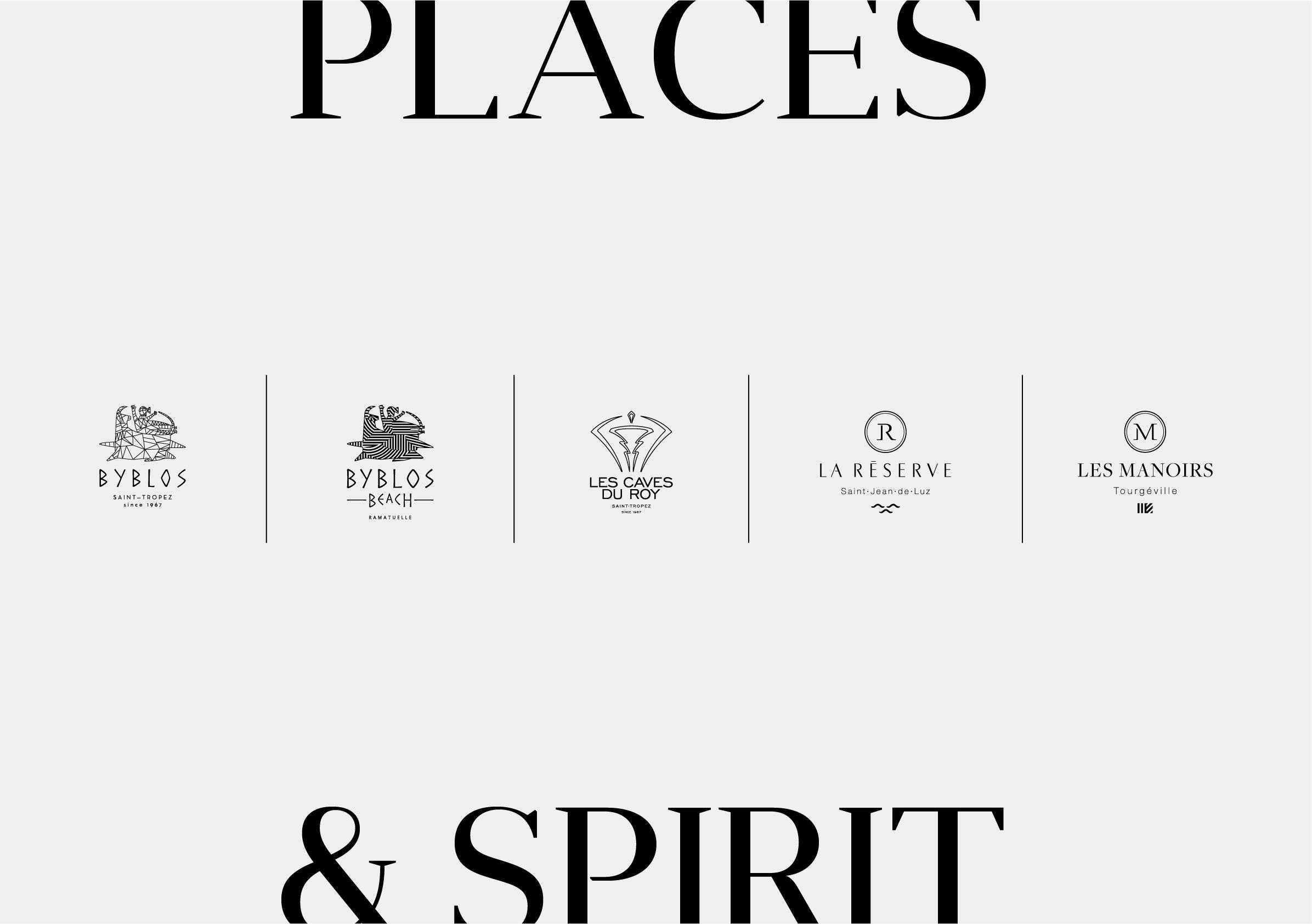 Logos groupe floirat hotellerie