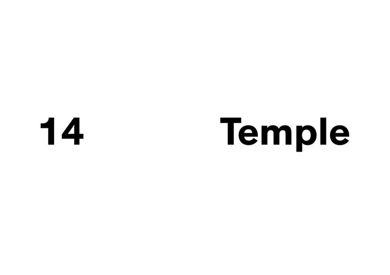 logo 14 temple BHV marais