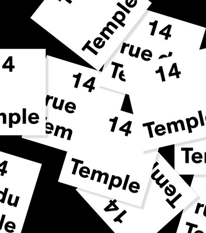 carte de visite 14 temple BHV marais