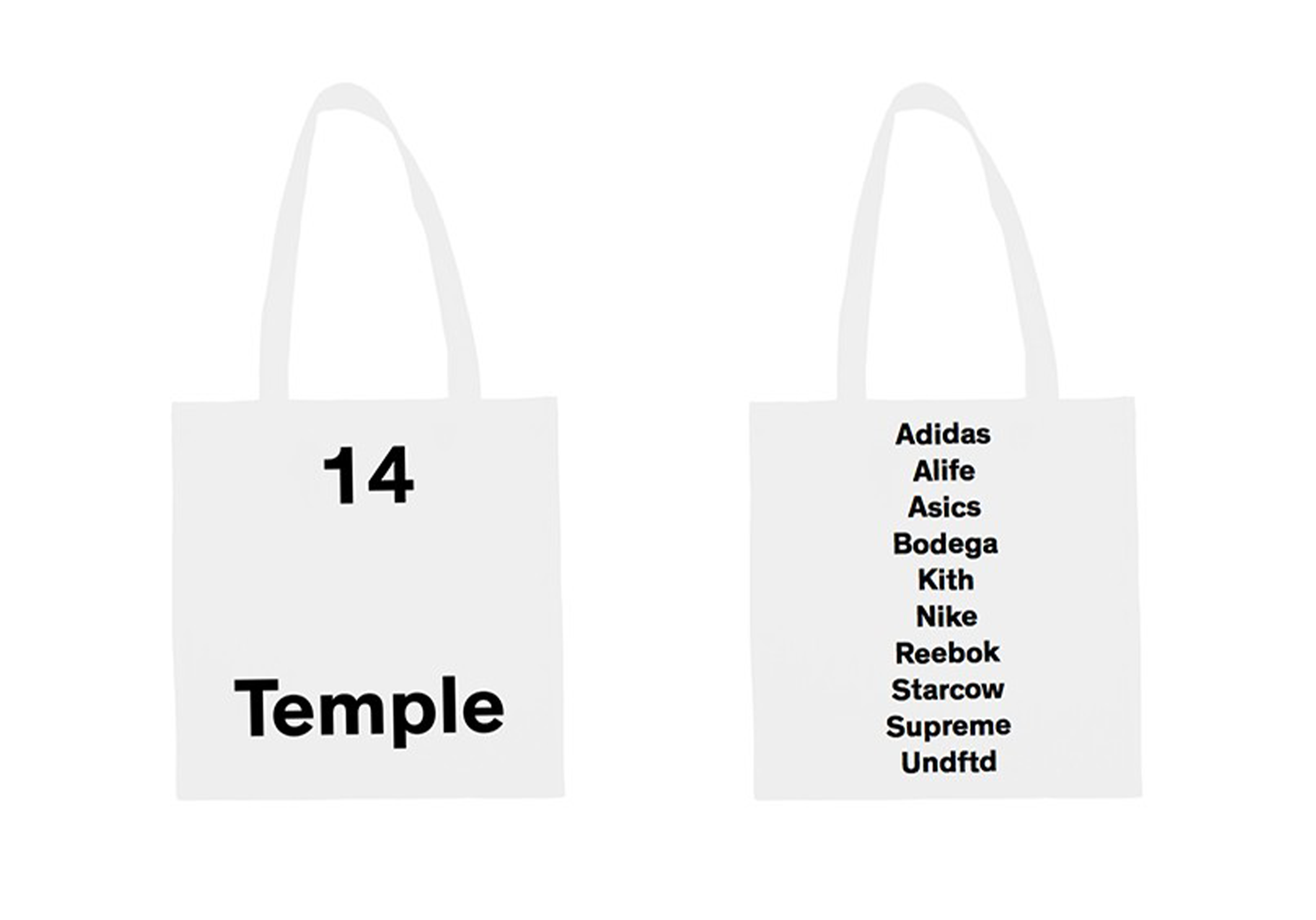 tote bag 14 temple BHV marais