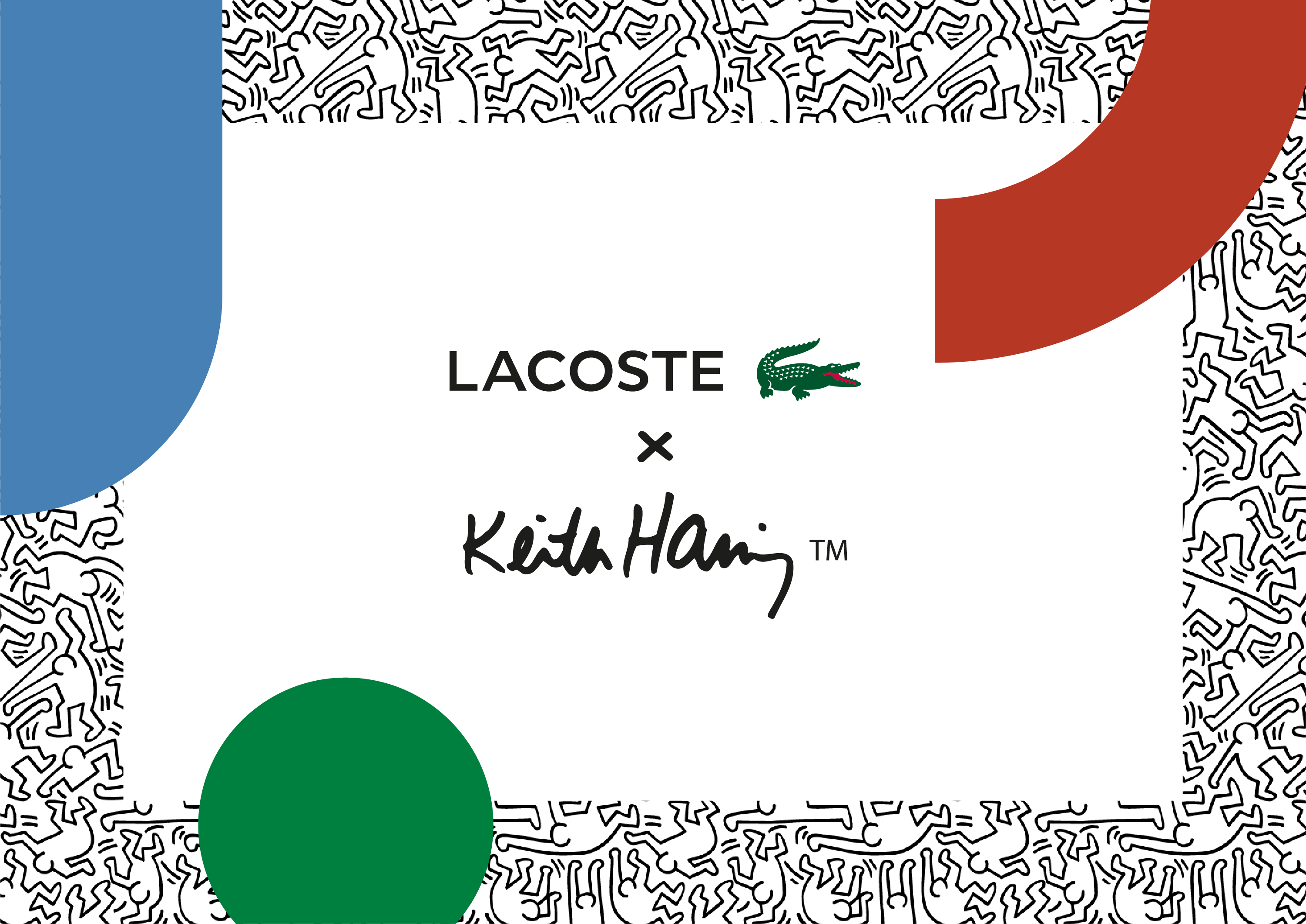 activation drive to store lacoste keith haring