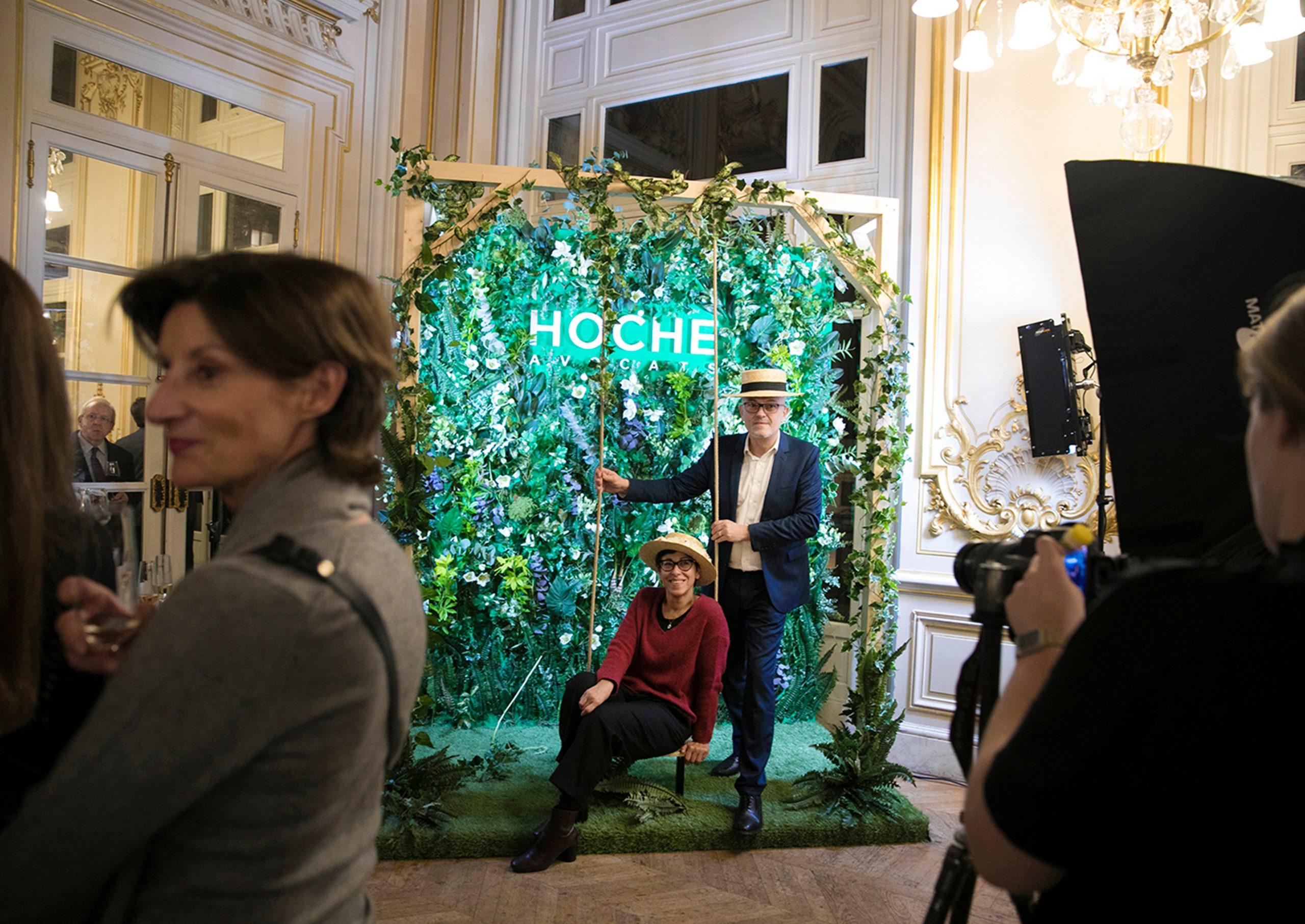 photocall Hoche Avocats