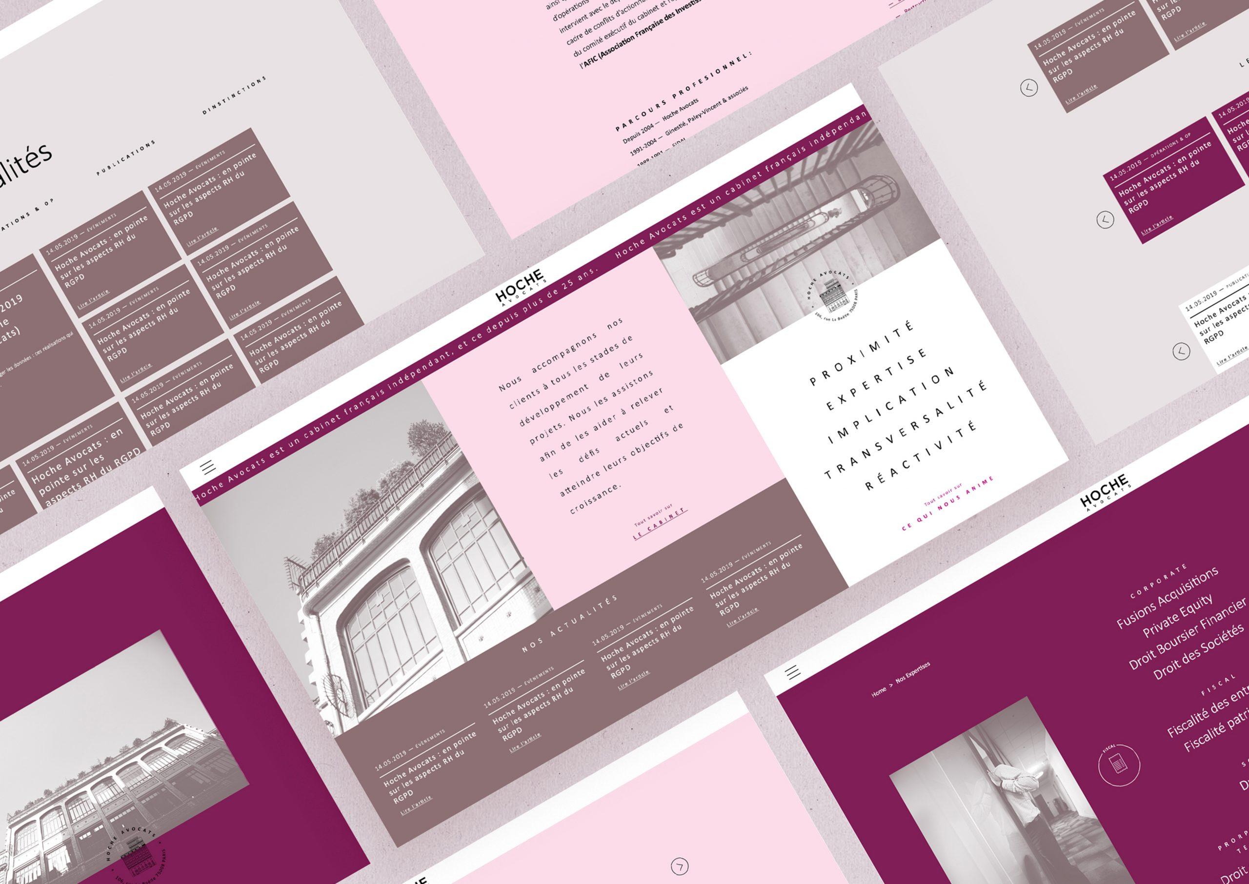 pages web site