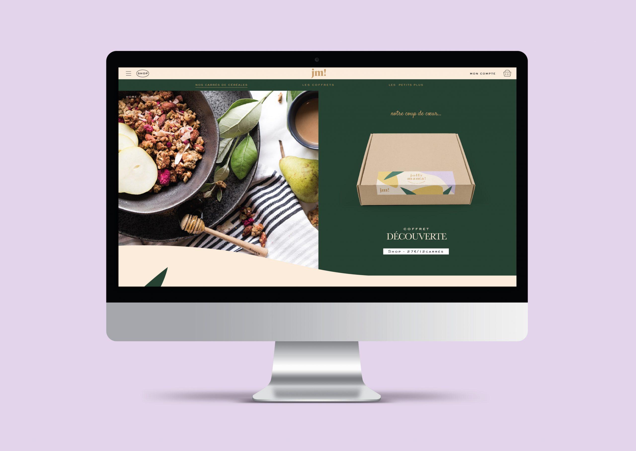site desktop coffret decouverte Jolly Mama