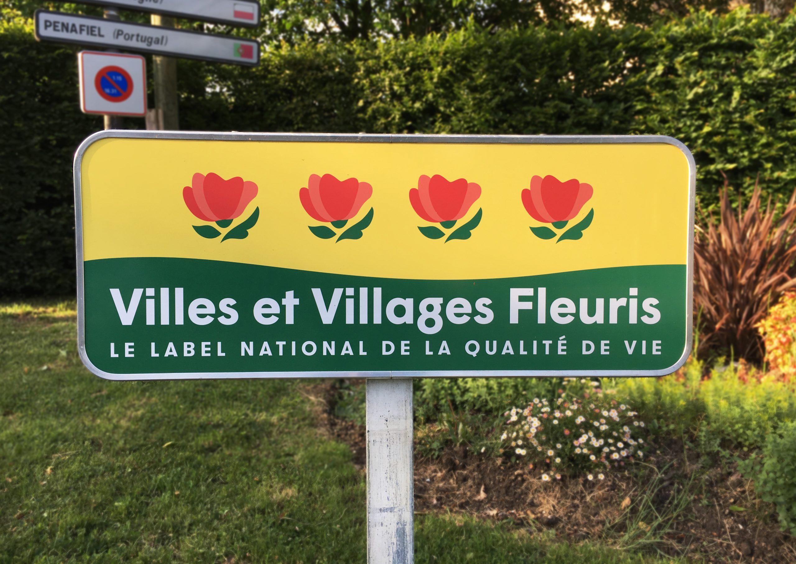 entrée de villes et villages fleuris