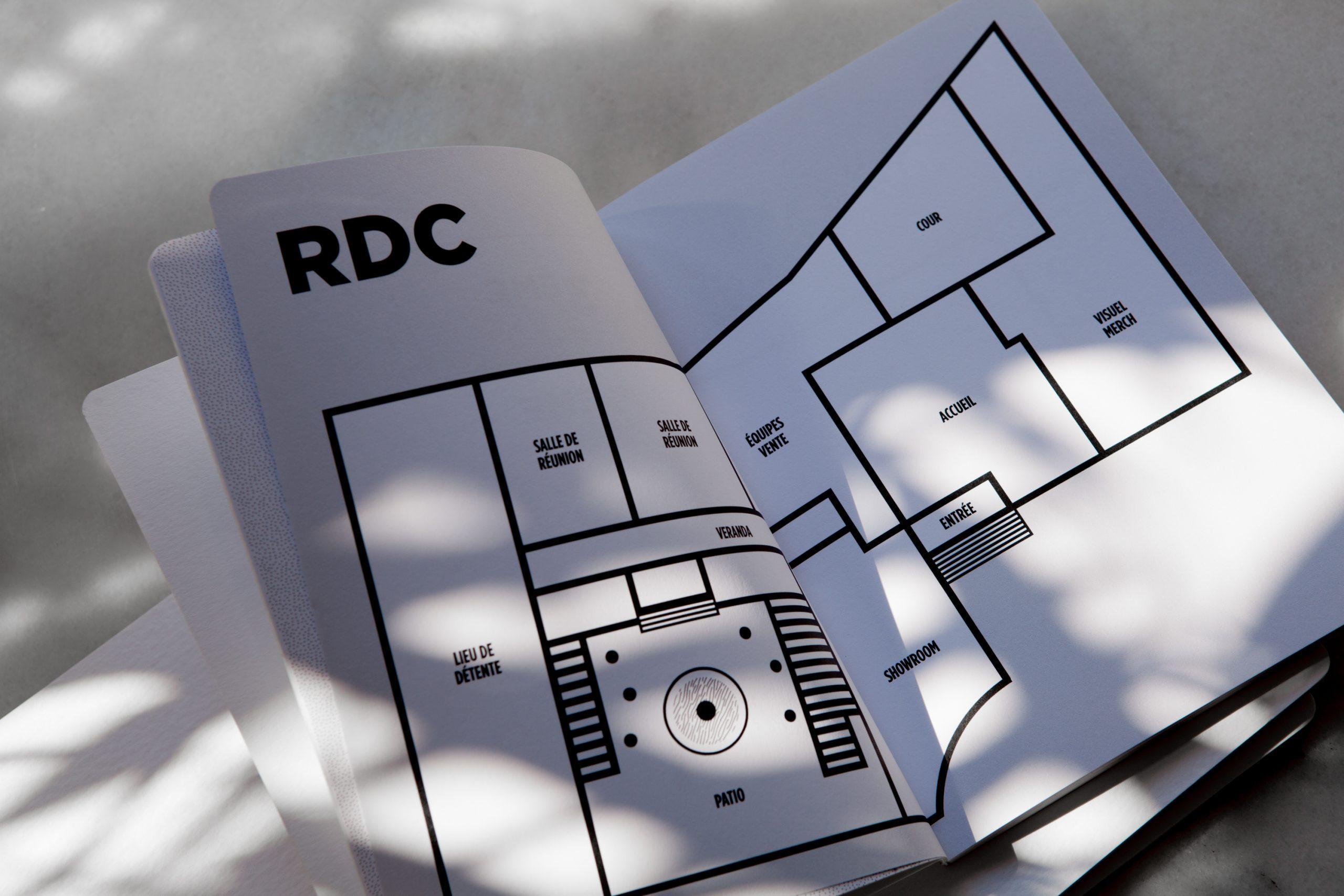 plan RDC nouveau collaborateur Sandro