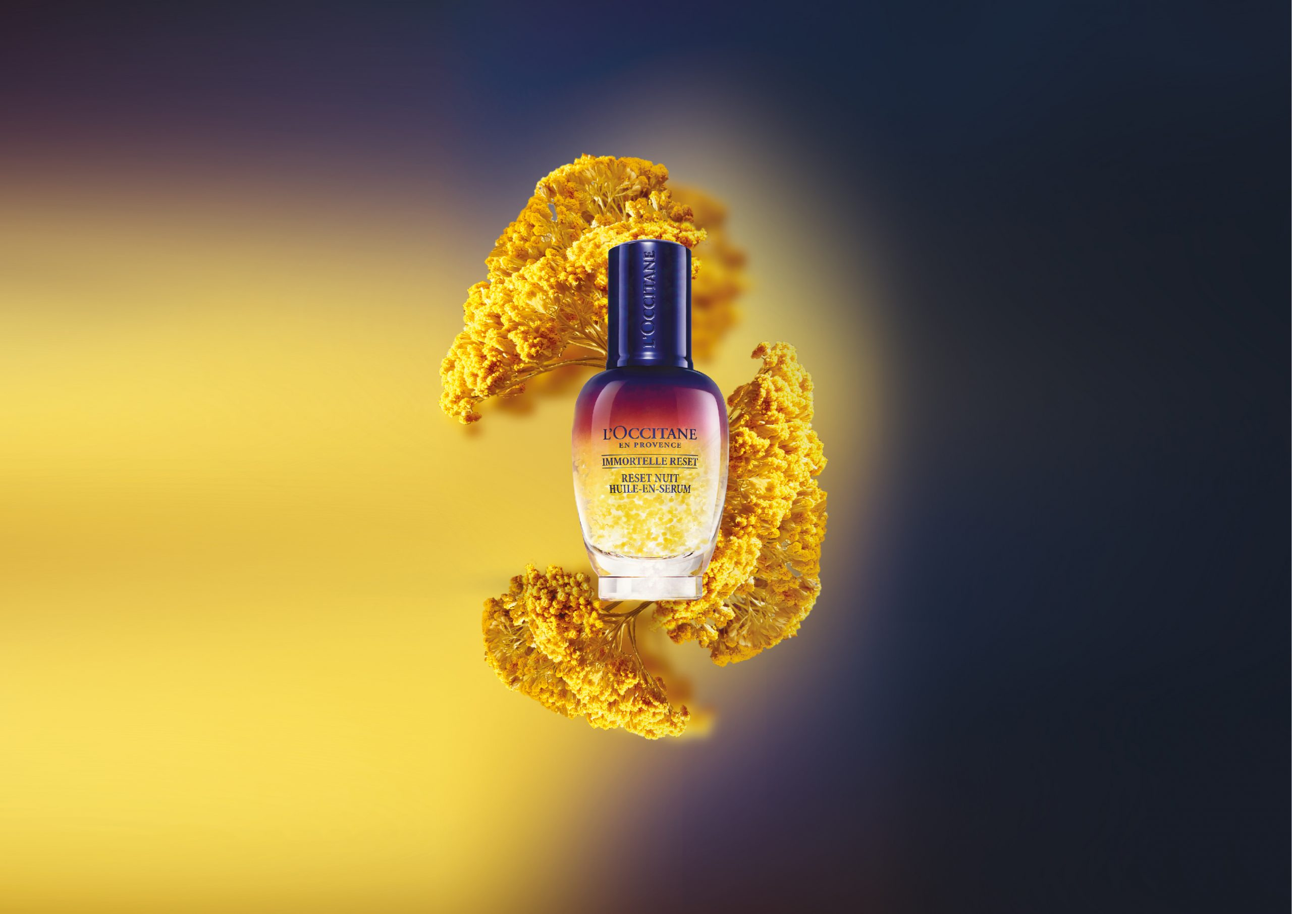 key visual activation Reset l'occitane