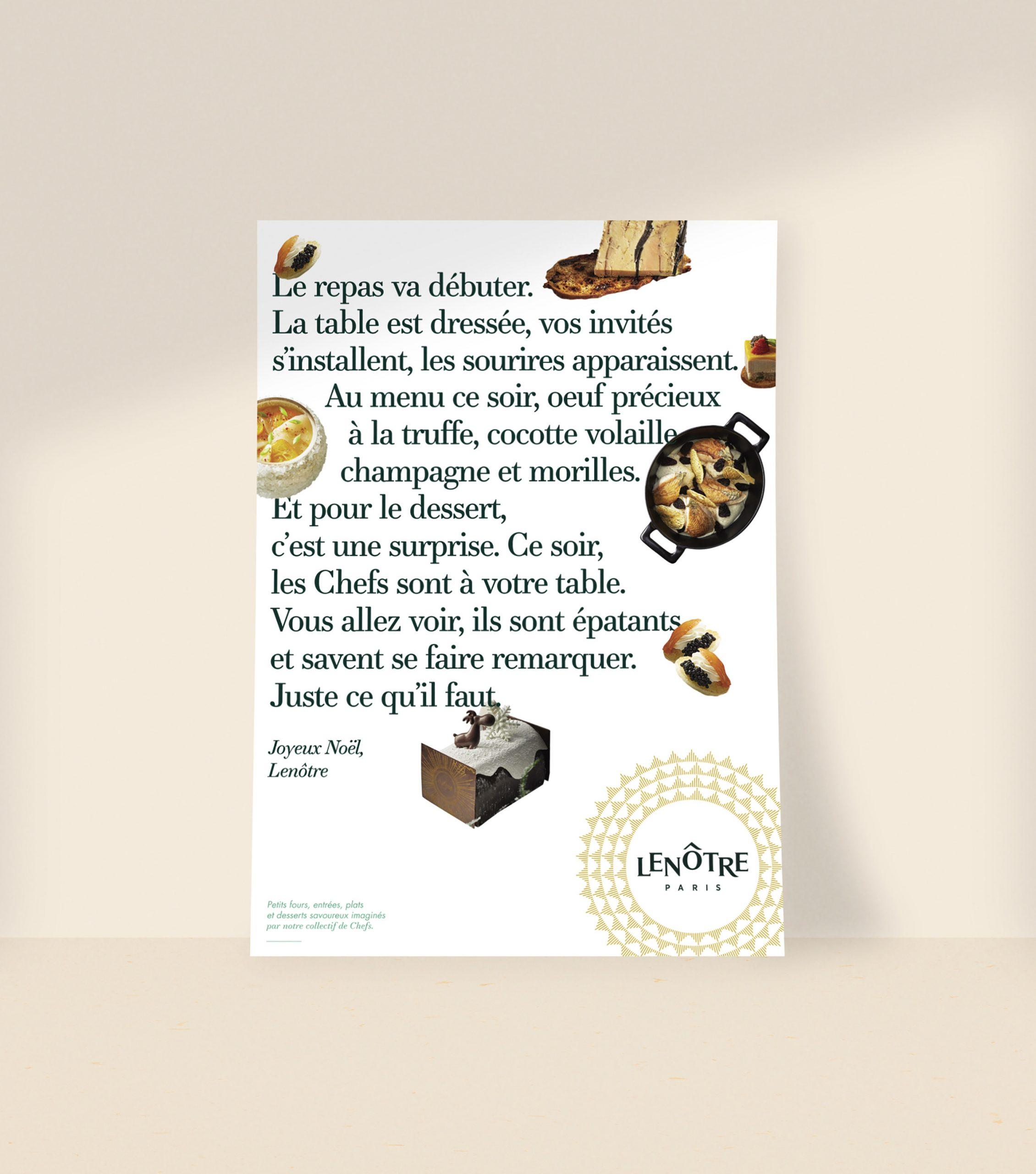 Communication Noël Lenôtre