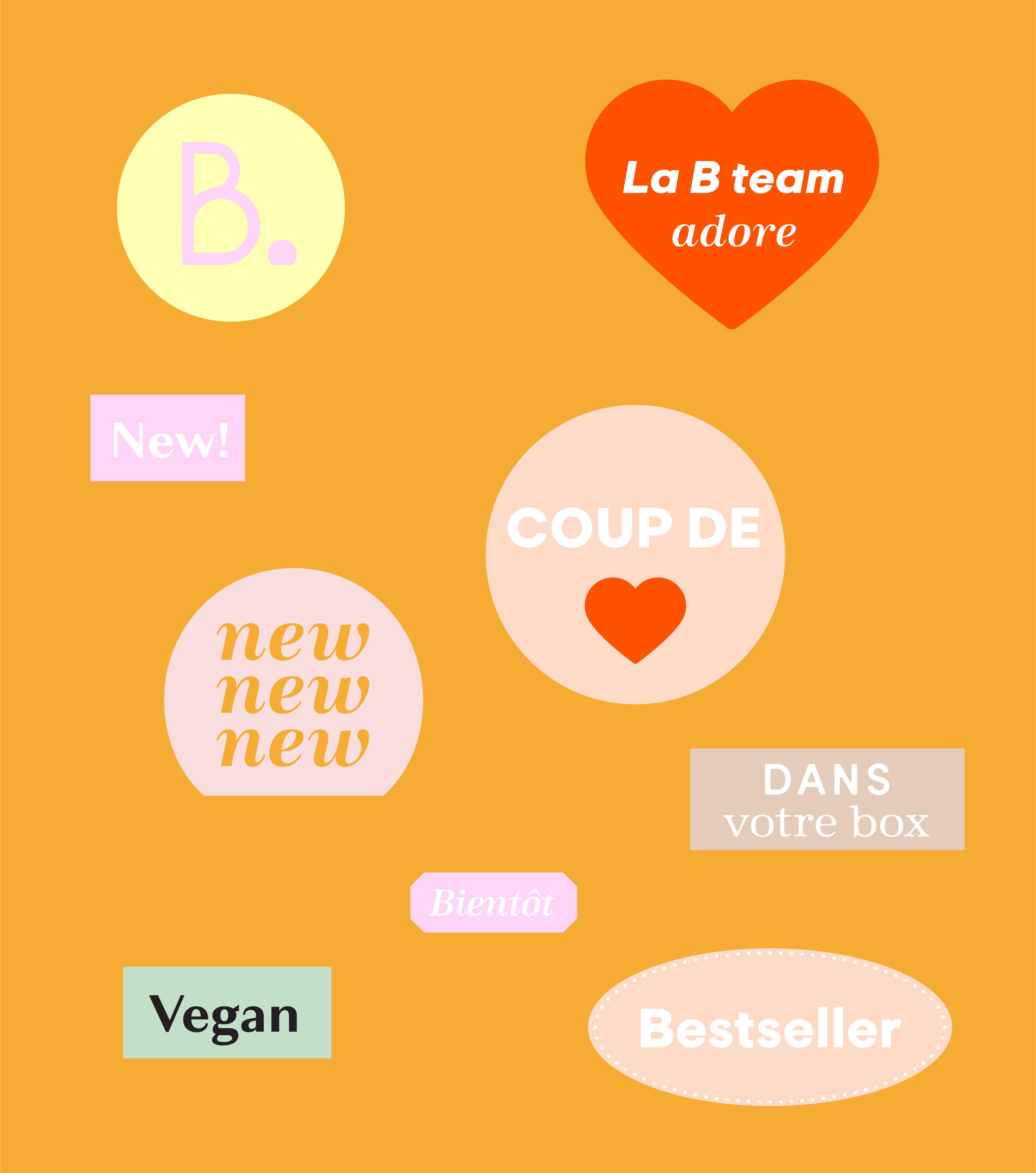 stickers blissim nouvelle identité birchbox