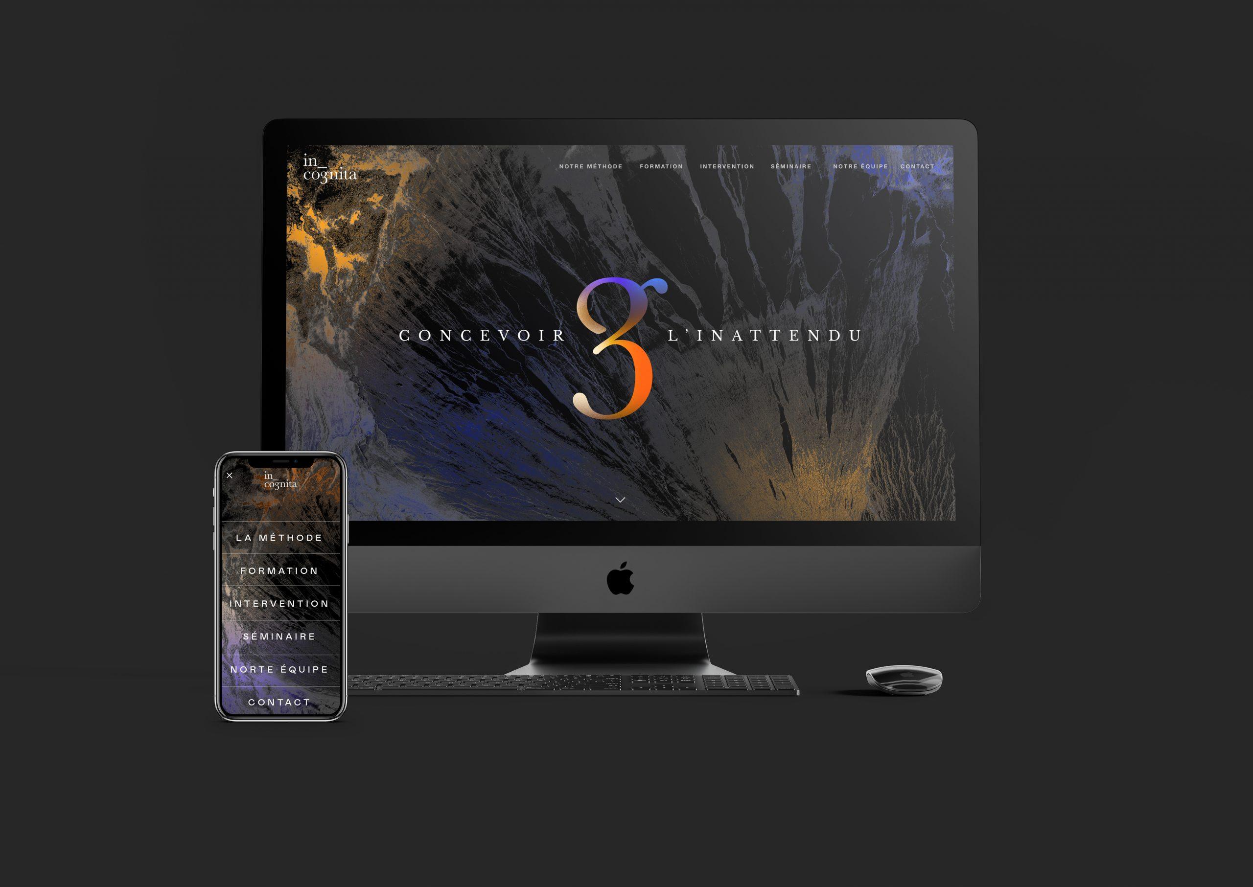 Site Internet desktop et mobile In Cognita