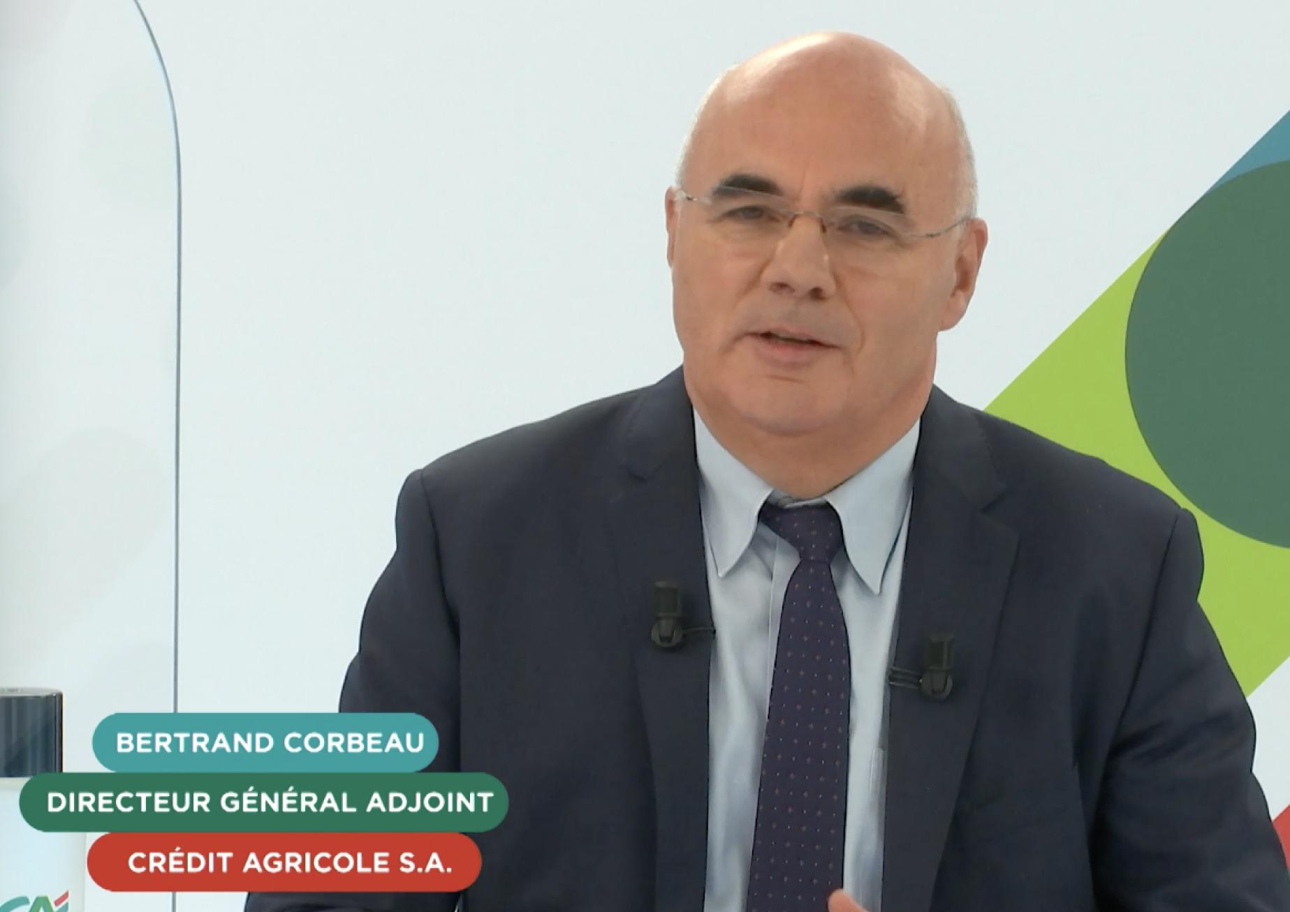 Bertrand Corbeau DGA Crédit Agricole PMA Days 2021