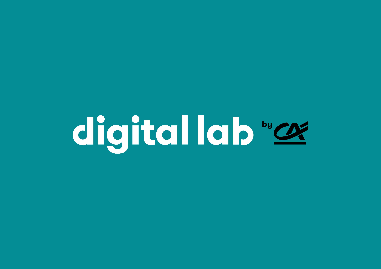 Logo Digital Lab by Crédit Agricole