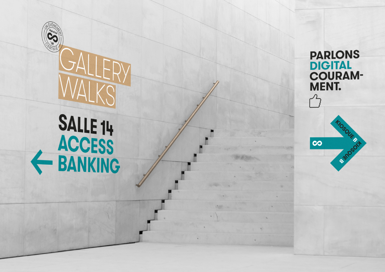 Accès Gallery Walks Digital Lab by Crédit Agricole