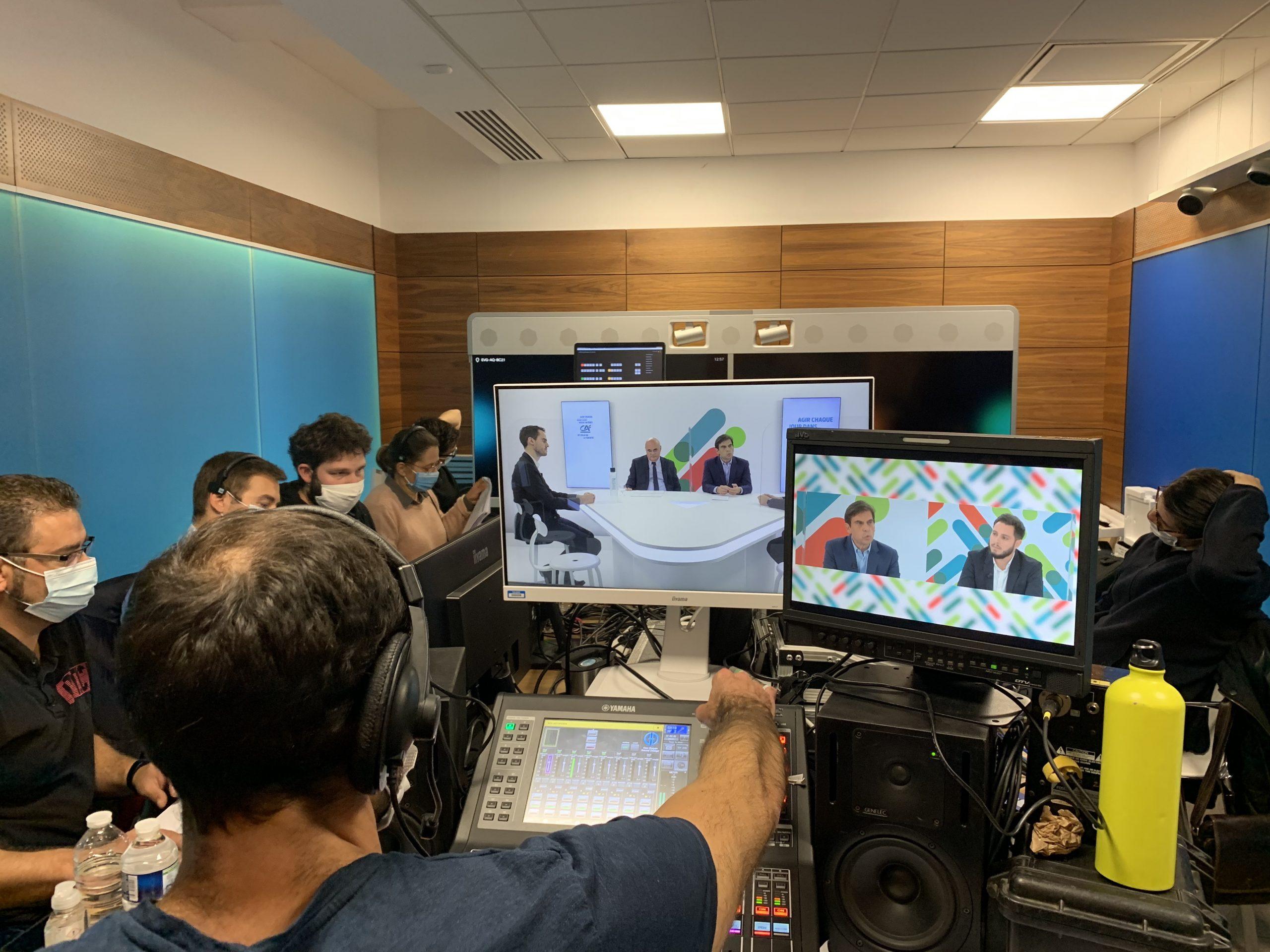 Régie plateau TV Crédit Agricole PMA Days 2021