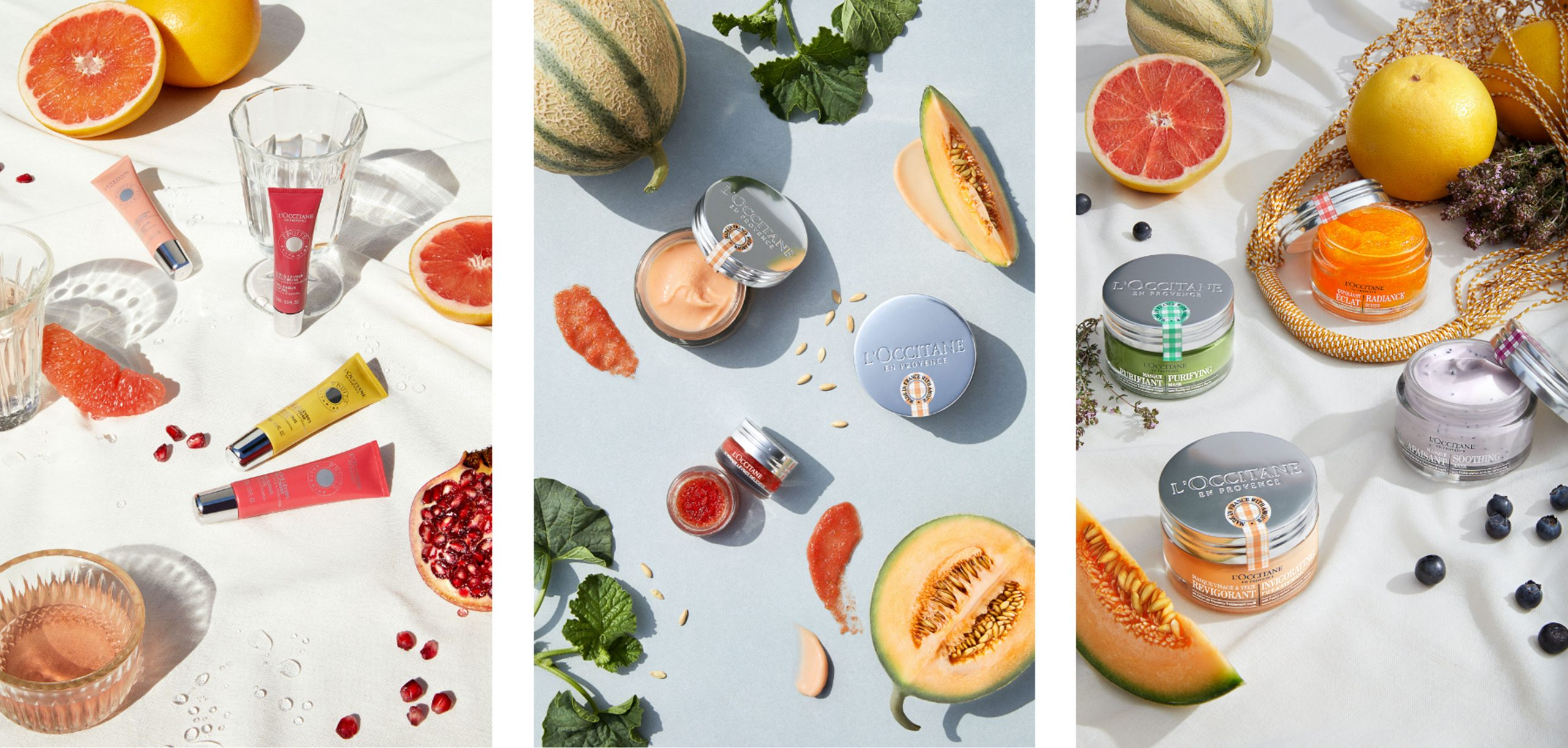 L'Occitane reveal your colors fruits