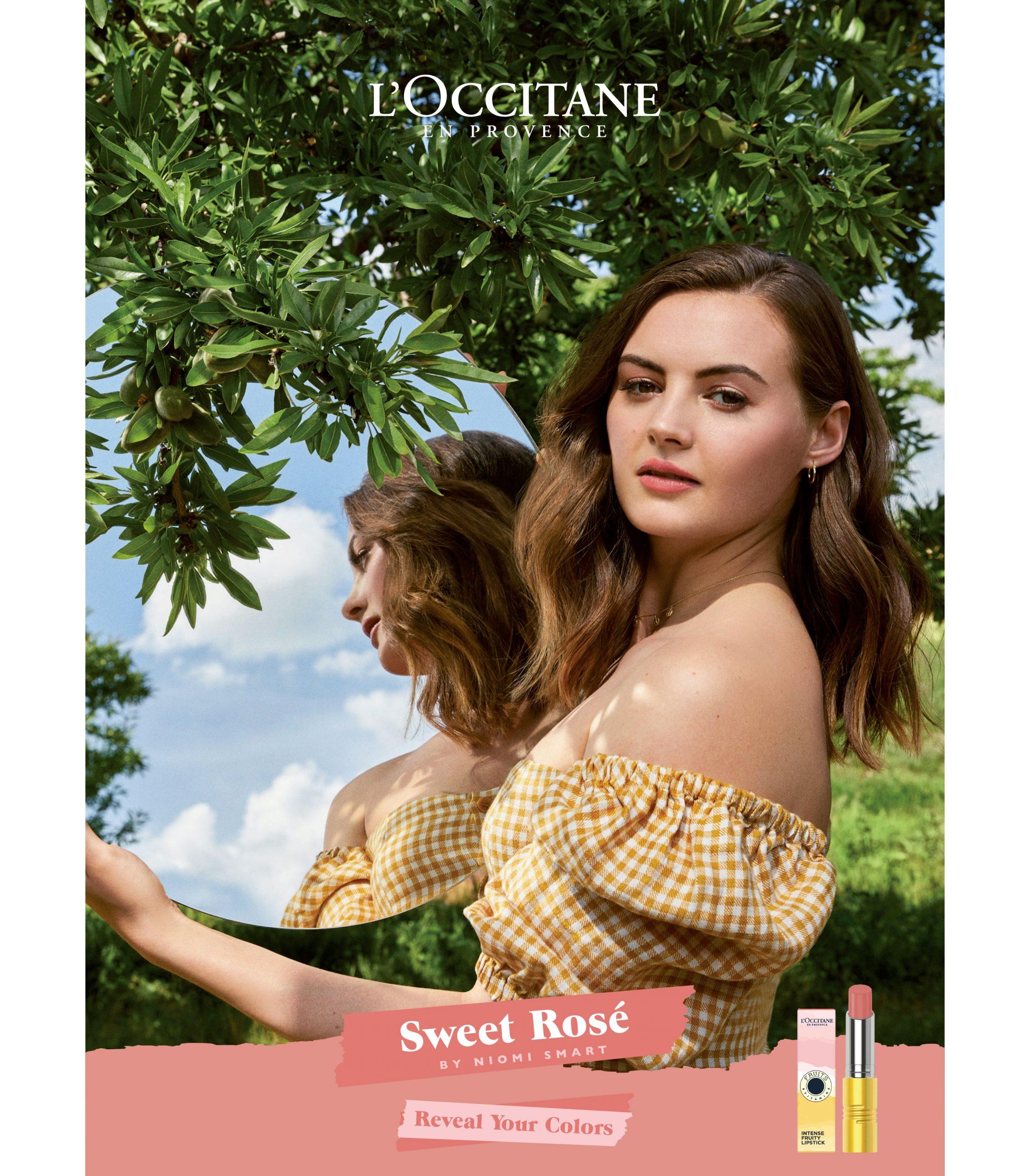 L'Occitane reveal your colors sweet rosé niomi smart