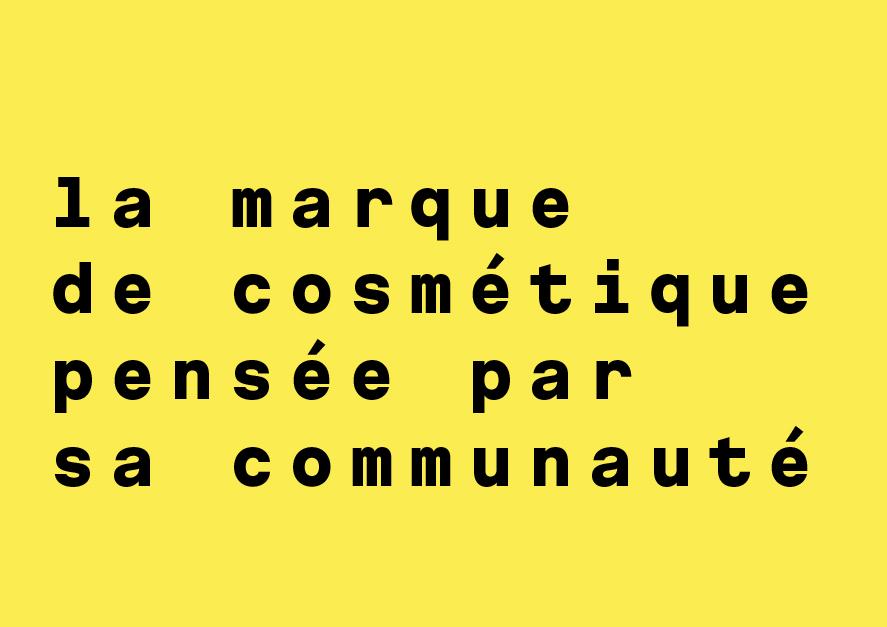 nidé.co la marque de cosmétique pensée par sa communauté
