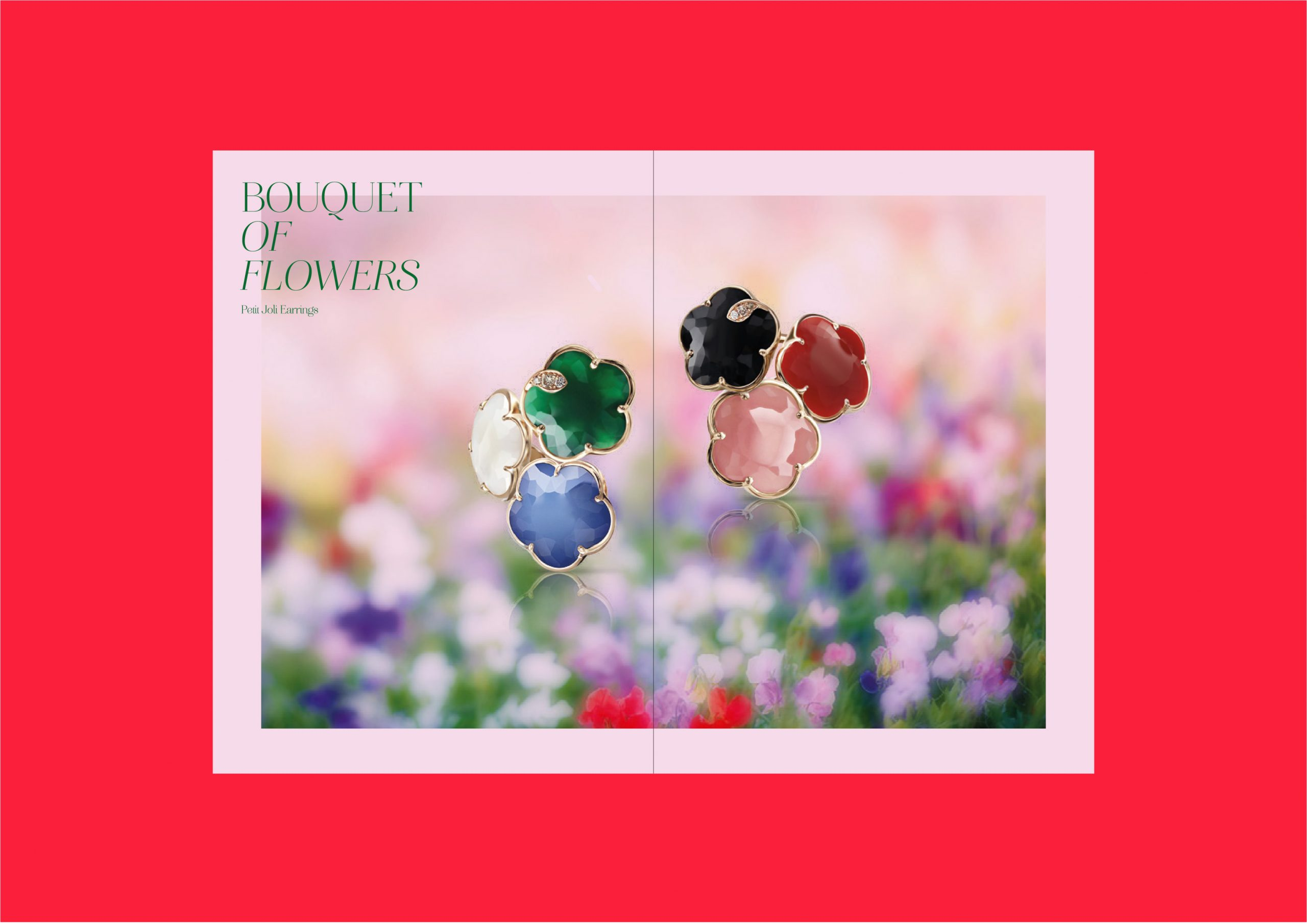 Pasquale Bruni joaillerie book bouquet of flowers