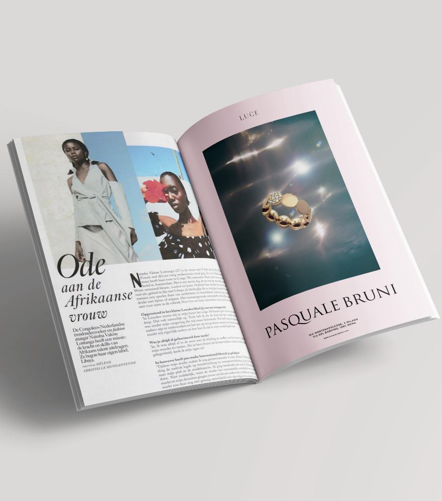 Pasquale Bruni joaillerie advertising