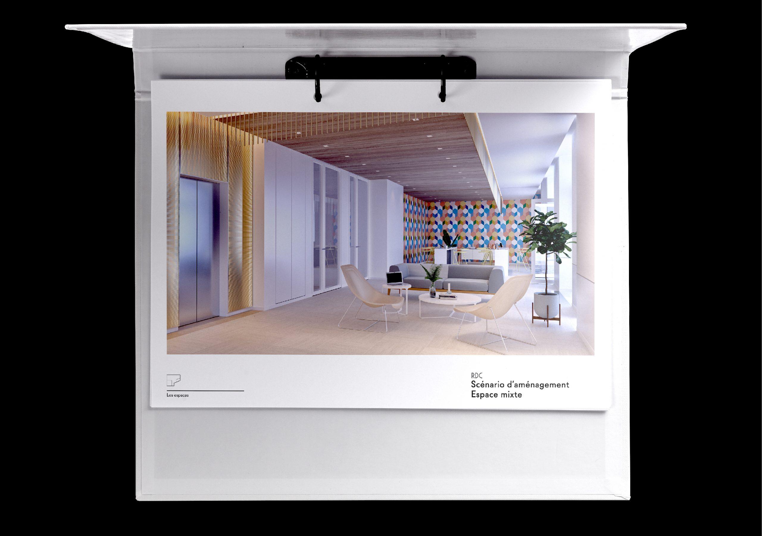 Concept 3D projet immobilier MIO rue de miromesnil
