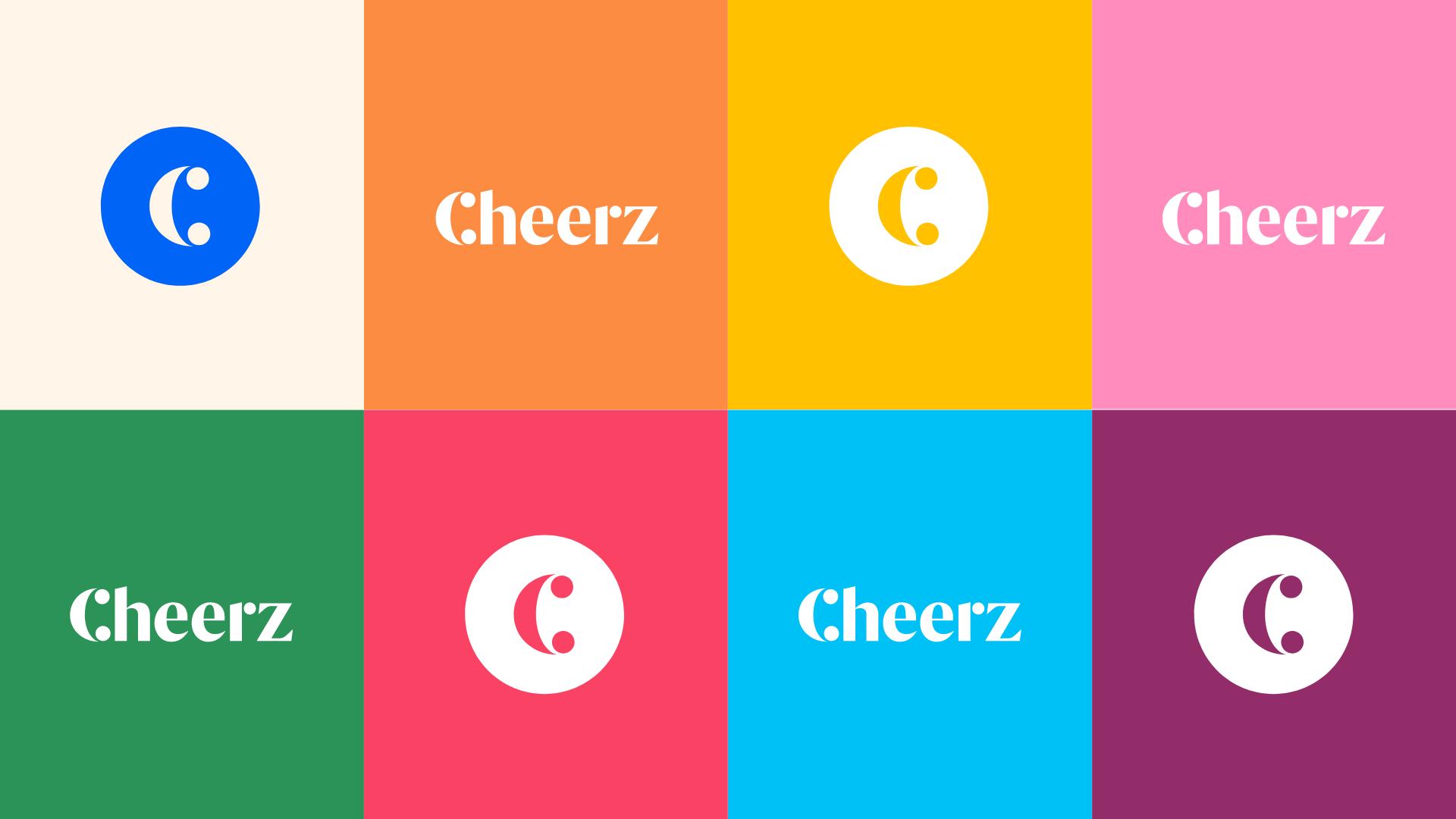 Cheerz nouvelle identité logo et le C