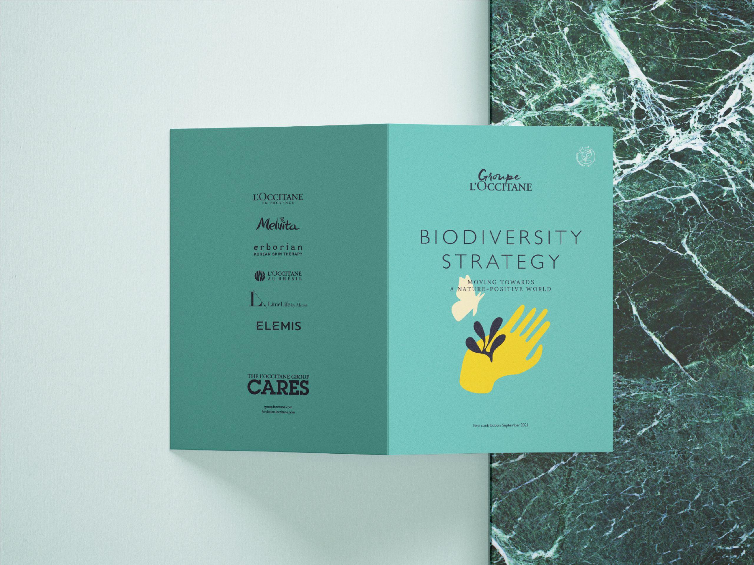 Livret Biodiversité Groupe L'occcitane