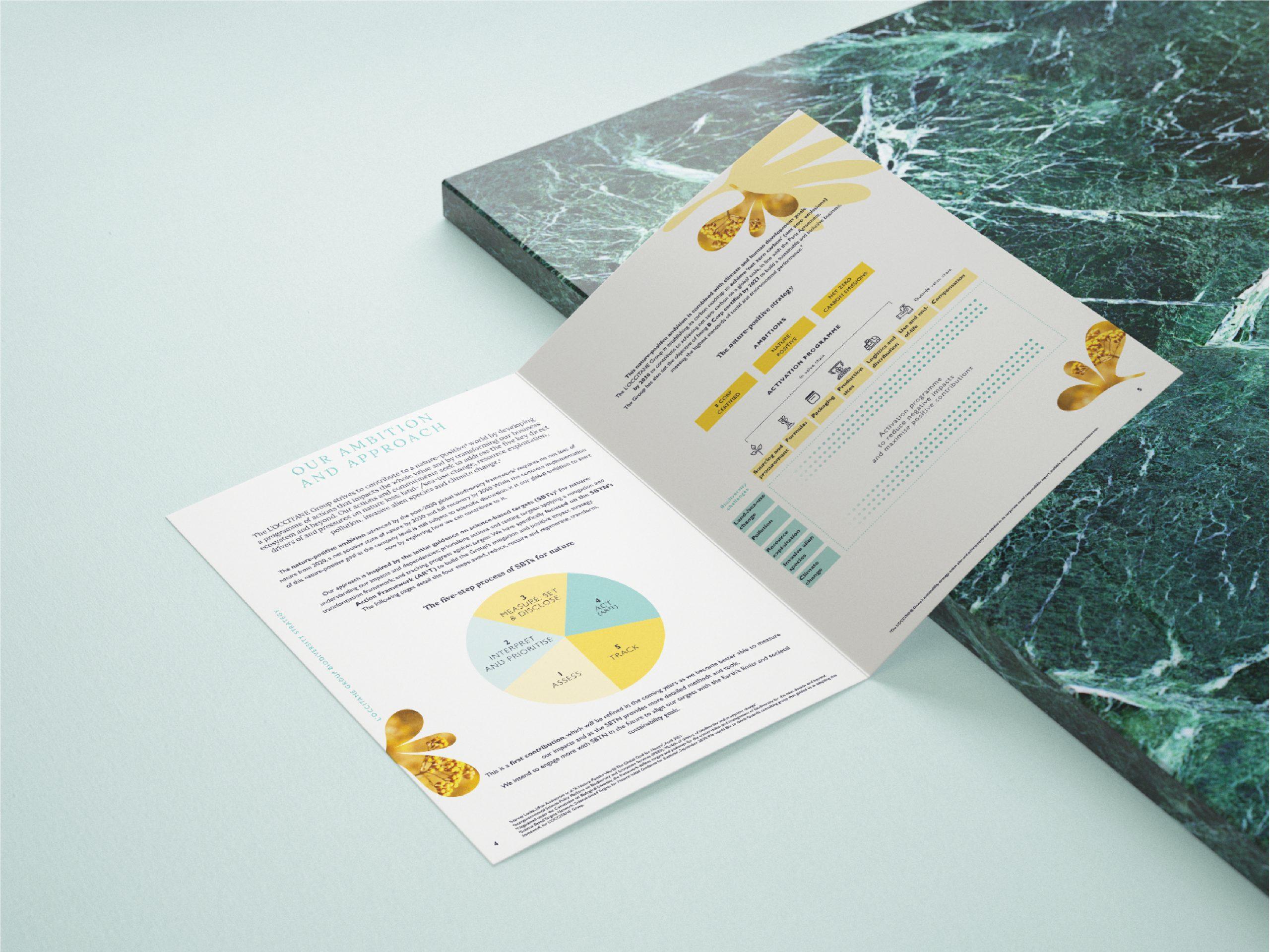 Leaflet IUCN Groupe L'Occitane