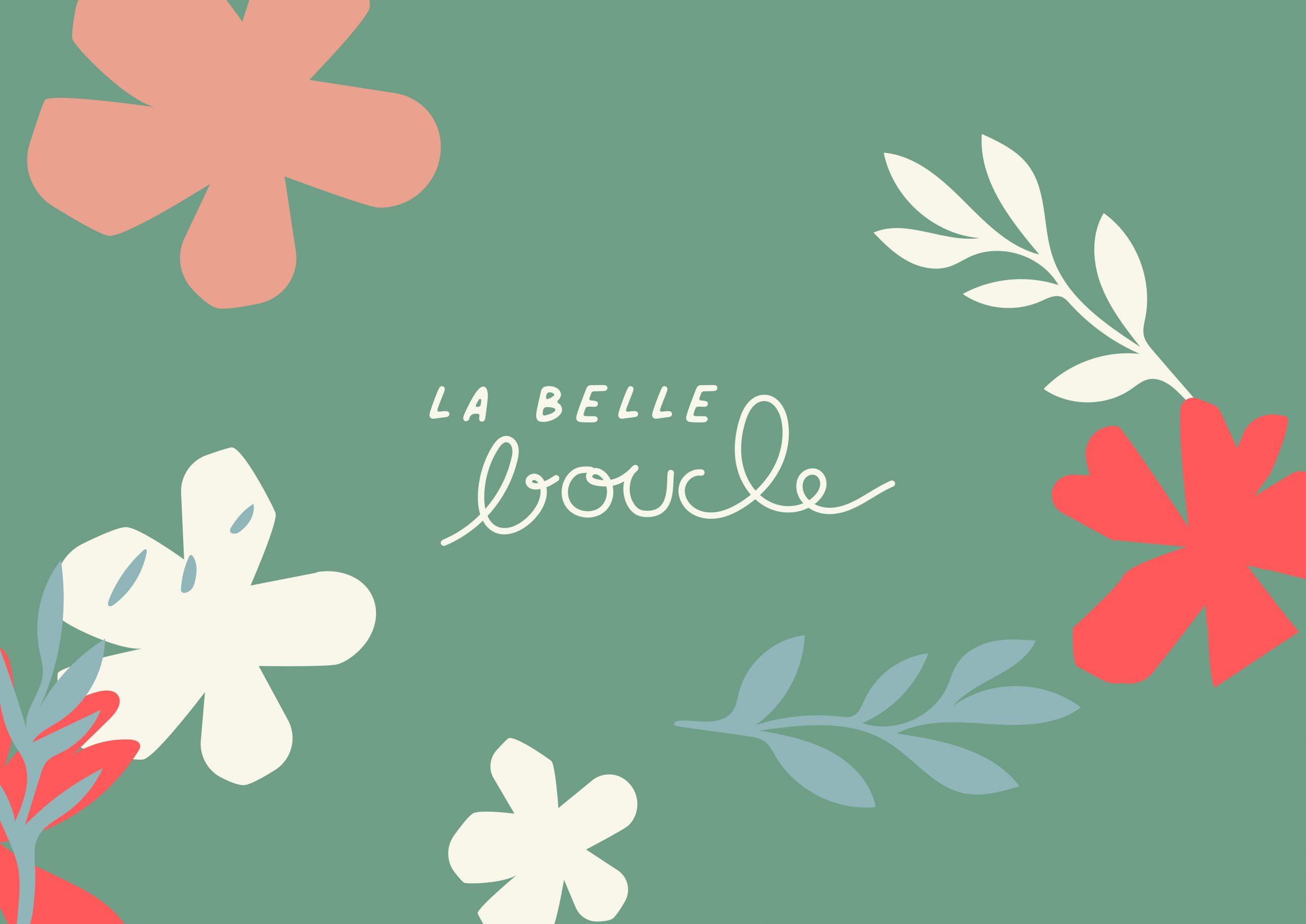 Logo et identité La Belle Boucle